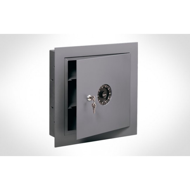 Sentry 7150 Wall Safe W Concealed Hinges And Combo Lock